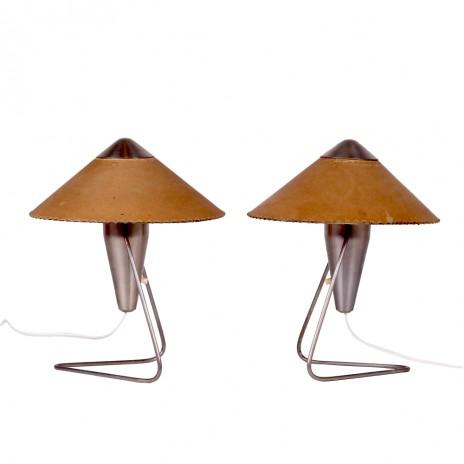 """Lamp """"Chinese"""" pair"""