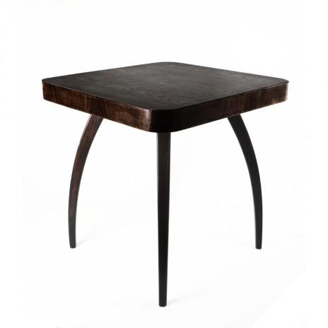 Table Halabala Spider - walnut wood